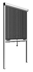 Rulou vertical cu montaj in zid - RVM