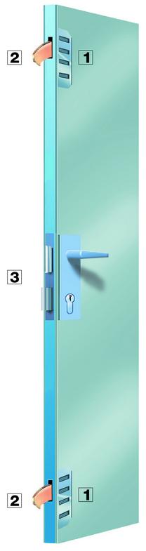 Feronerie Securo I - usa de intrare principala din PVC