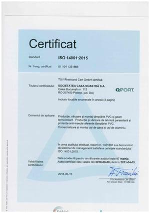 QFort - ISO 14001-2015
