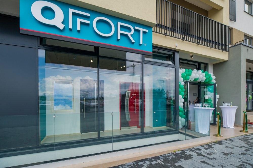 Un nou showroom QFort in Brasov