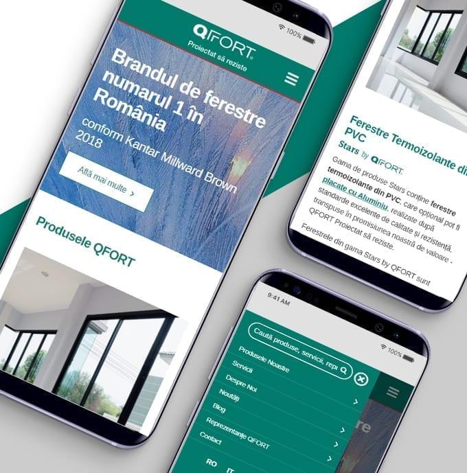 Qfort, brandul numarul 1 de ferestre din romania, este online sub un nou concept